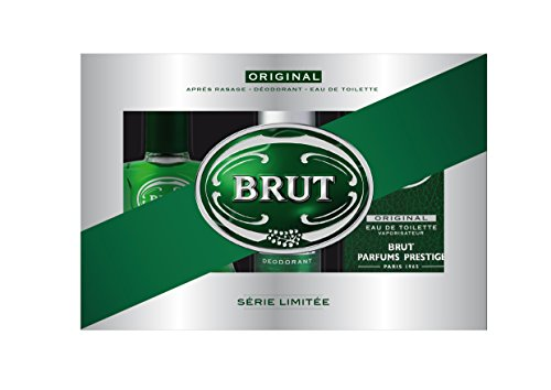 Brut Original set regalo - EDT 100 ml + Deospray 200 ml + Dopobarba 100ml