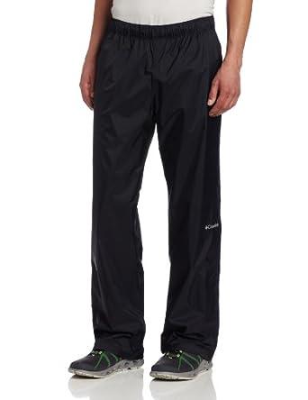 Columbia Men's Regen Rain Pant, Black, X-Large/32