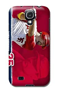 Mlb Los Angeles Angels Team Logo Samsung Galaxy S4 Case in Rose By Lfy