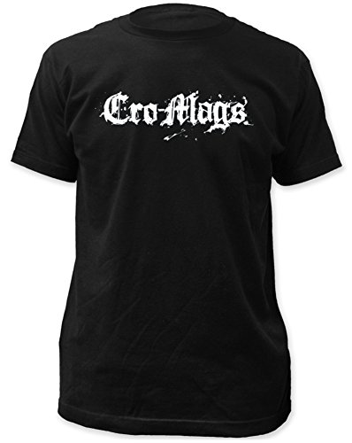 Stab & wound Cro-Mags Logo Fitted Jersey Tee