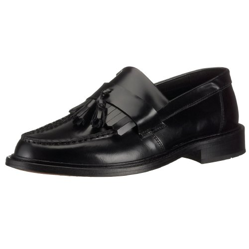 Ik3235 - Selecta Tab Slip On Loafer With Tassel Black 8 UKregular