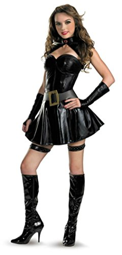 Disguise Womens Gi Joe Baroness Sassy Fancy Dress Theme Party Halloween Costume
