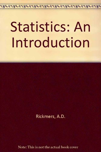 Statistics: An Introduction PDF