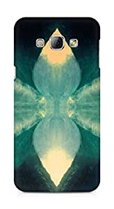 Amez designer printed 3d premium high quality back case cover for Samsung Galaxy A8 (Cover north borders art illust cover)