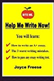 img - for Help Me Write Now!: Volume 1 (Introduction to Writing Essays) by Joyce Freese (2013-07-02) book / textbook / text book