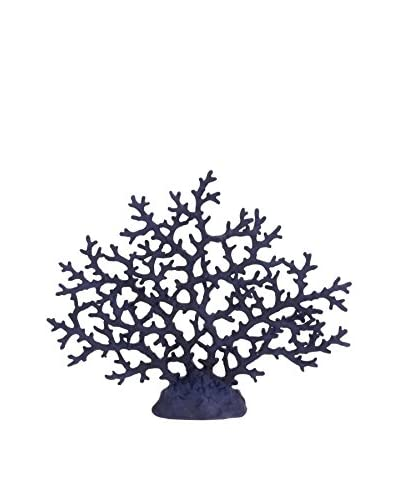 Blue Coral Sculpture