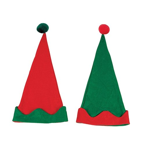 Felt Elf Hats - 12 per pack