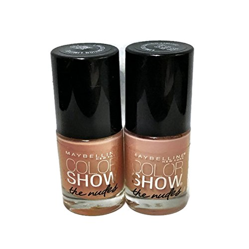 Maybelline Color Show Limited Edition the Nudes Nail Polish, 753 Bare Beige (2 Pack) (Maybelline Quick Dry Nail Polish compare prices)
