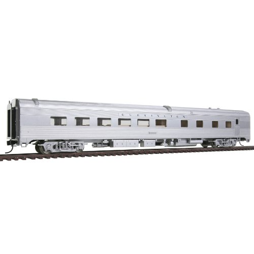 Walthers Budd Streamlined HO Scale Diner Ready to Run Chicago, Burlington and Quincy
