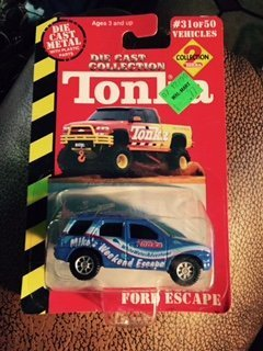 tonka-ford-escape-31-of-50-die-cast-collection-the-second-series-of-tonkas-die-cast-collection-2000-