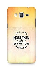 AMEZ you are more than the sum of your mistakes Back Cover For Samsung Galaxy Grand Prime