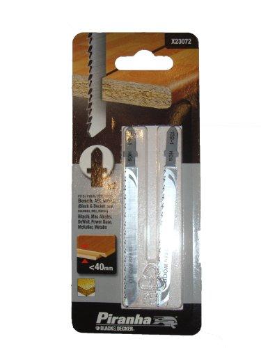 EKNA-Shop Black & Decker X23072 - 2 Stück Stichsägeblätter T-Shaft