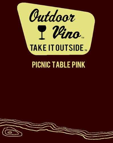 Nv Outdoor Vino Picnic Table Pink 750 Ml