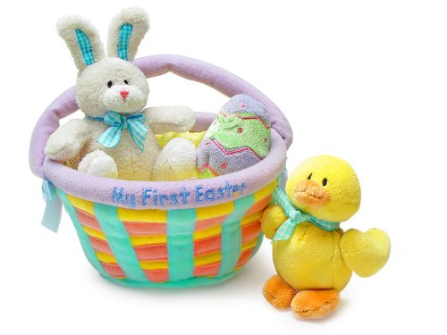41Faqg09DaL My First Easter Basket   Baby Gund