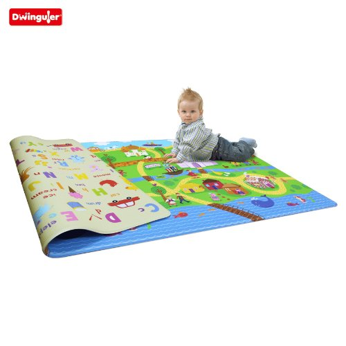 Dwinguler Eco-friendly Kids Play Mat - Fairy Land (Large)