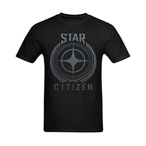 Definite-Myself-Mens-Star-Citizen-Logo-Steel-Art-Design-T-Shirt