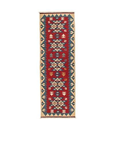 Qurama tapijt veelkleurige 305 x 80 cm
