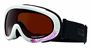 Sinner Runner II Goggle - Pink Flower, One Size