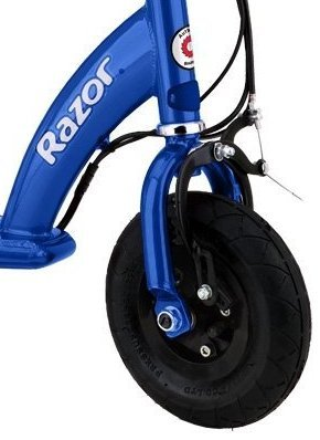 Razor e100 electric scooter blue your 1 source for for Razor motor scooter e100