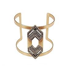 buy November'S Chopin (Tm) Elegant Arrow Statement Fashion Lady Cuff Bracelet