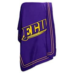Brand New East Carolina Pirates NCAA Classic Fleece Blanket by Things for You