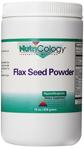 Nutricology Flax Seed Powder, 16 Ounce