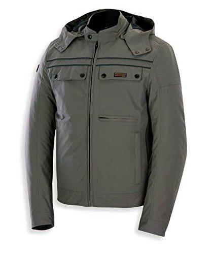 Spyke CITY MEN GT MUD Giacche moto in tessuto per uomo (XL, Fango)