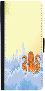 Snoogg Summer Illustrattiondesigner Protective Flip Case Cover For Xiaomi Red...