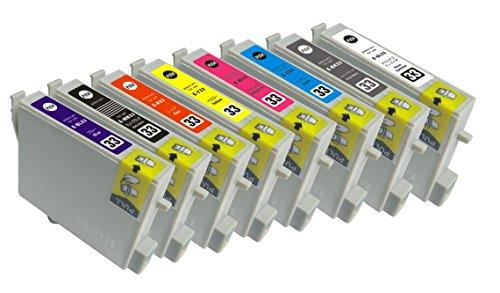エプソン IC8CL33/IC33 8色セット 互換インクカートリッジ romansenseオリジナル