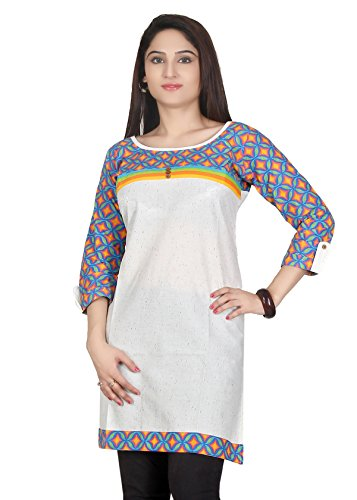 Sanskruti Sanskruti Creations Women's Kurti (Yellow)