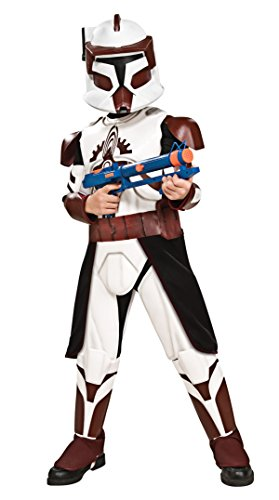 Star Wars Clone Wars Clone Trooper Child's Deluxe Commander Fox Costume