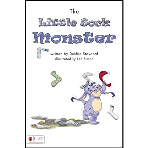 The Little Sock Monster | [Debbie Stoyanof]