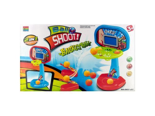 Two-in-One Tabletop Basketball Shooter Game Kids Children by bulk buys