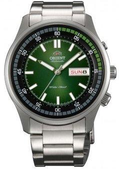 Orient Marshall #EM7E004F de acero inoxidable de los hombres de día/fecha de 50 m en el que una parte de uno mismo reloj automático