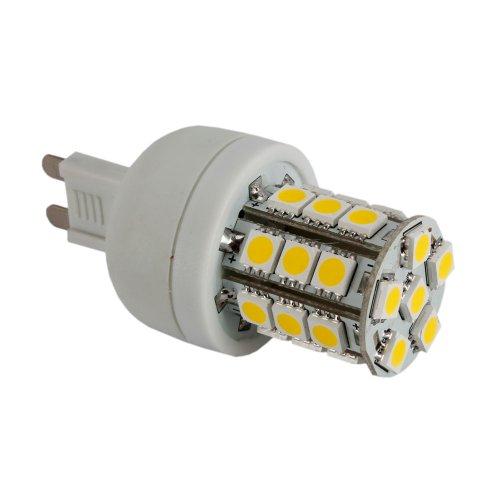 G9 3W 5050 Warm White Led Corn Light Bulb, 400Lm
