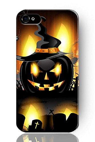 Sprawl New Classic Vintage Beautiful Design Personalized Hard Plastic Snap On Slim Fit Demon Pumpkin Iphone 5 5S Case