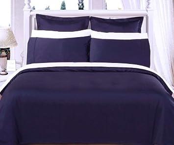 Full/Queen Comforter Set 100% Egyptian Cotton 550 Thread Count
