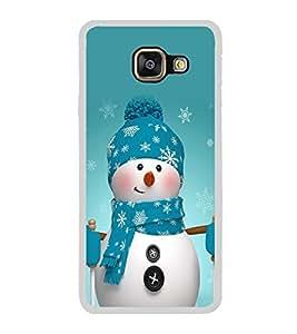 Snowman 2D Hard Polycarbonate Designer Back Case Cover for Samsung Galaxy A7 (2016) :: Samsung Galaxy A7 2016 Duos :: Samsung Galaxy A7 2016 A710F A710M A710FD A7100 A710Y :: Samsung Galaxy A7 A710 2016 Edition