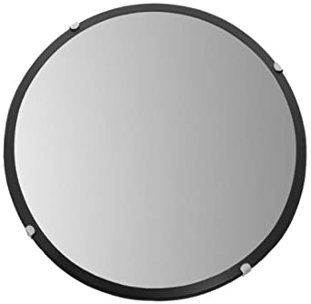 "See All PLX12 Circular Acrylic Indoor Convex Security Mirror, 12"" Diameter (Pack of 1)"