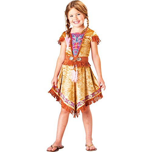 Butterfly Indian Maiden Kids Costume front-879111