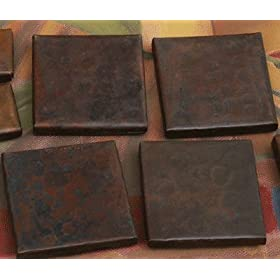 "2""x 2"" Copper Accent Tiles"
