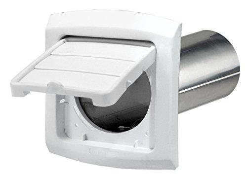 Dundas Jafine BHLH4WZW EzAccess 4-Inch Dryer Vent Hood, White (4 Vent Hood compare prices)