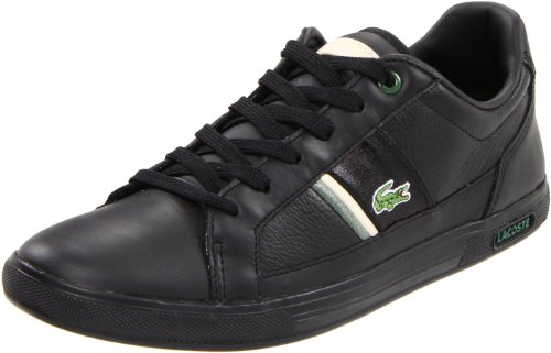 Lacoste Men's Europa TC Sneaker,Black,9.5 M US