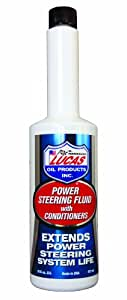 Lucas Oil 10442 Power Steering Fluid with Conditioners - 16 oz.