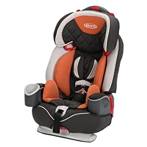 Graco Nautilus Elite 3-in-1 Car Seat, Tangerine