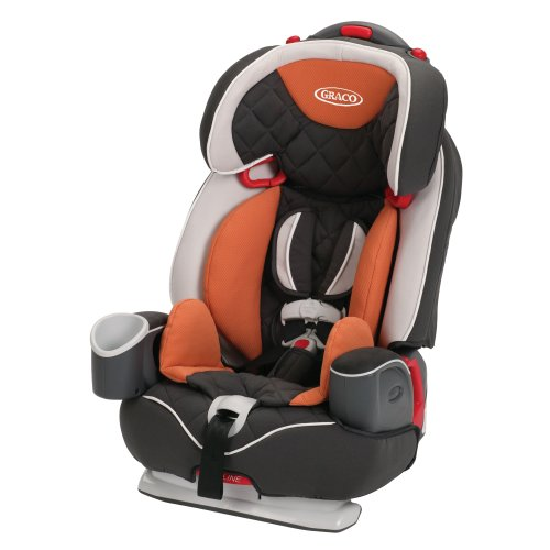 Best Deals! Graco Nautilus Elite 3-in-1 Car Seat, Tangerine