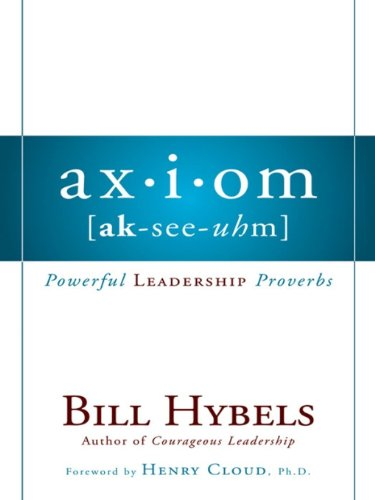 Download Axiom: Powerful Leadership Proverbs