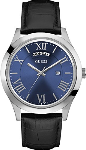 Guess  W0792G1 - Reloj de lujo para hombre, color azul / negro