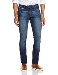Wrangler Men's Slim Fit Jeans (8907222413552_WRJN5988_34W x 33L_Dirty Tinted)