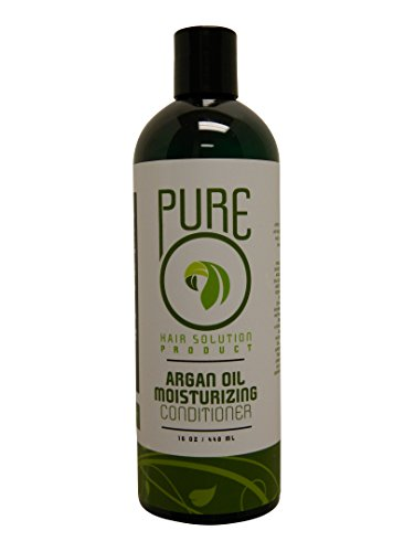 Pure Hair Solution Argan Oil Moisturizing Conditioner 8Oz (237Ml) -Hair Loss Prevention All Natural Organic , Support Healthy Hair Growth